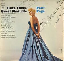 "PATTI PAGE ""HUSH, HUSH SWEET CHARLOTTE"" POP 60'S LP COLUMBIA 9153 STEREO"