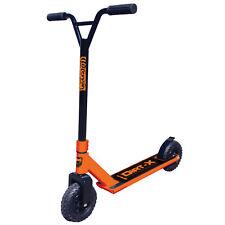 Adrenalin Dirt-X Off Road Kids & Adult Stunt Push Scooter - Orange