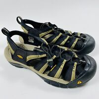 Keen Newport H2 Men's Hiking Sandals US Size 12 Black Shoes Waterproof 1001906