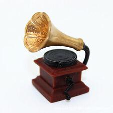1:12 Dollhouse ACCESSORIES vintage gramophone Electrical gadgets maison de poupée