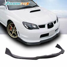 Fit 2006-2007 Subaru Impreza WRX C-speed Front Bumper Lip Spoiler Body kits