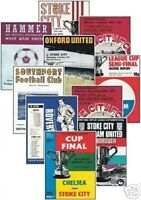 Stoke City 1972 League Cup Programme Trading Card Set FREE UK POSTAGE