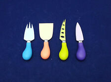 New Cheese Knife 4pcs Set - Stainless Steel Colored NON-Stick knives Kitchenware