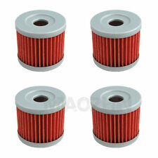NEW 4 PCS Motorcycle Oil Filter For Hyosung GV250 GT250 GT250R RX125 RX125SM