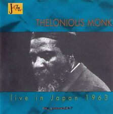 Thelonious Monk: Live In Japan 1963 | CD