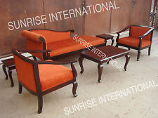 French style wooden 6 pc Sofa set !!