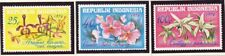 INDONESIA FLOWERS ORCHIDS Scott 978-980 MNH s2123