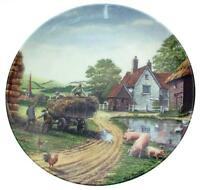 Royal Doulton Down on the Farm Crinkley Bottom Mick Bensley plate - CP1848