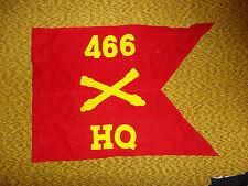 gdon11  WW 2 US Army Airborne  Guide on 466th Field Artillery Battalion HQ flag