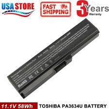 Battery for Toshiba Satellite L645 L655 L700 L730 L750 L755 PA3634U