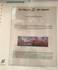 """""""Der Weg zu den Sternen"""": Motiv Weltraum, Sammlung auf Vordruck, Fa. Lindner"""