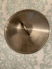 """Simply Calphalon Stainless Steel Replacement Lid 11 7/8"""" Inner 12 3/8"""" Nice"""