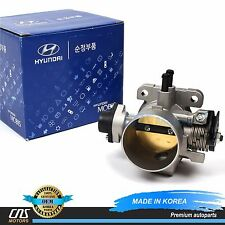 GENUINE Throttle Body Fits 2006-2011 Hyundai Accent Kia Rio Rio5 OEM 35100-26860
