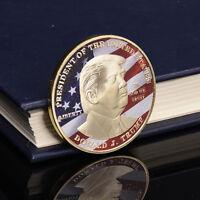 NEU USA Präsident Donald Trump,Gold/Silber Gedenkmünze Pro