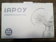 Iapoy Electric Breast Pump Breastfeeding Pump w Automatic Mode Breast Massage