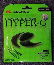 Solinco Hyper G Hyper-G 16 Gauge 1.30mm Tennis String NEW