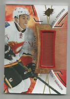2016-17 UD SPX Rookies Red #RMT Matthew Tkachuk Calgary Flames 079/235 JSY