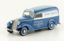 Mercedes Benz 170D Service Truck Fangio Dealership Argentina Rare Diecast 1:43