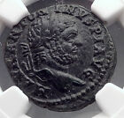 CARACALLA 198AD Stobi Macedonia Victory Authentic Ancient Roman Coin NGC i60216