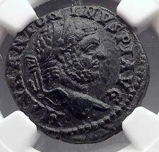 CARACALLA 198AD Stobi Macedonia Victory Authentic Ancient Roman Coin NGC i60216