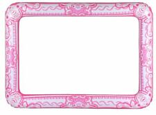 """32"""" Pink Inflatable Selfie Frame Blow Up Giant Photo Booth Novelty Fun Party"""