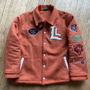 Lyrical Lemonade Chicago Bears Varsity Jacket Size XL New NWT Juice Wrld Tecca