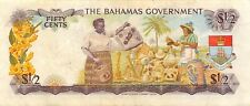 Bahamas  $ 1/2  Act. 1965  P 17a  Series  B  Circulated Banknote Me20