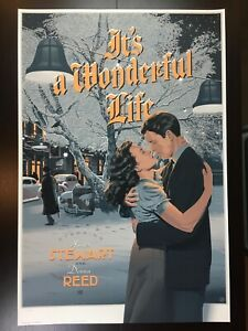 """IT'S A WONDERFUL LIFE"" DURIEUX LIMITED EDITION SCREEN PRINT! $190!"