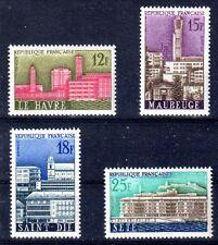 FRANCE 1958 TIMBRE N° 1152 à 1155 SERIE VILLES RECONSTRUITES ** LUXE
