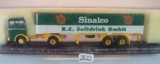 Brekina 1/87 mercedes benz lp1620 remolcarse Sinalco Soft Drink OVP #2822