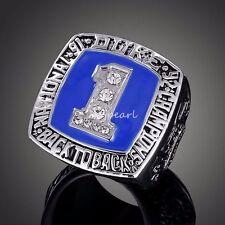 Duke Blue Devils Krzyzewski 1992 National Championship Ring Size 12 Heavy Solid