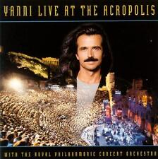 YANNI - Live At The Acropolis (CD 1994) USA Import EXC-NM