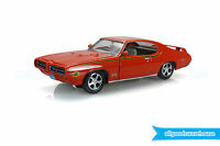 Classic 1969 Pontiac GTO Judge Carousel Red 1:24 scale diecast model hobby car