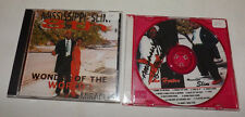 (2) SIGNED John Horton MISSISSIPPI SLIM Delta Blues CDs  (Wonder of the World)