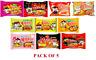 10 TYPES SAMYANG Buldak Ramen Corn Cheese Mala Carbo Curry Stew Jjajang (5 pack)