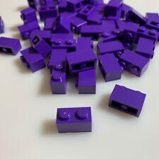 "50 NEW LEGO 1x2 Medium Lilac (""Purple"") Bricks (3004/4640739) walls modular"