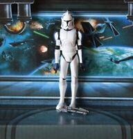STAR WARS FIGURE 2008 ANIMATED CLONE WARS CLONE TROOPER MIXER