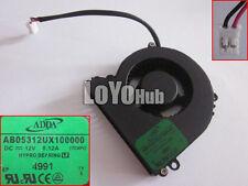 ADDA AB05312UX100000 1TCW 12V 0.12A 2-Pin Server Blower Cooling fan HYPRO