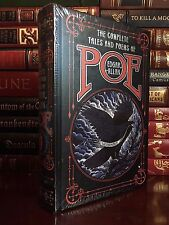Complete Tales & Poems of Edgar Allan Poe New Sealed Leather Bound Collectible