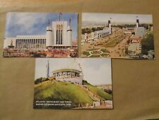 THREE UNUSED EMPIRE EXHIBITION SCOTLAND 1938 POSTCARDS