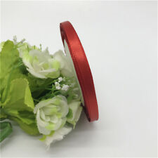 6mm (1Roll 25yds)Silk Satin Ribbon Wedding Party Decoration Card Gift Packing