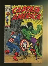 Captain America 110 VG+ 4.5 * 1 Book Lot * 1st Madame HYDRA! Jim Steranko!