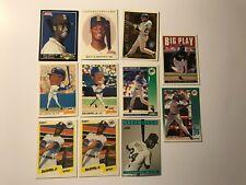 1990's Lot of 11 Ken Griffey Jr Cards Seattle Mariners