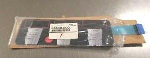 Bunn FMD Cappuccino Dispenser Membrane Switch Part # 28543.0000