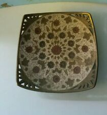 Antique Vintage  Hand Painted Tray