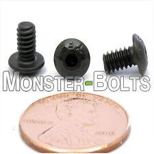 "#6-32 x 1/4"" - Qty 50 - BUTTON HEAD Socket Cap Screws  Alloy Steel Black Oxide"