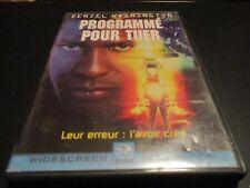 "DVD ""PROGRAMME POUR TUER"" Denzel WASHINGTON"
