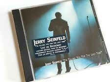 """NEW Jerry Seinfeld """"I'm Telling You For The Last Time"""" CD Broadway NWT SEALED"""