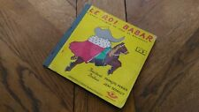 Livre/Vinyle « Le Roi Babar N°3 » 1957 En Etat.