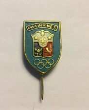 Philippines Olympic Pin Badge Noc From The Los Angeles Usa 1984 Olympiad